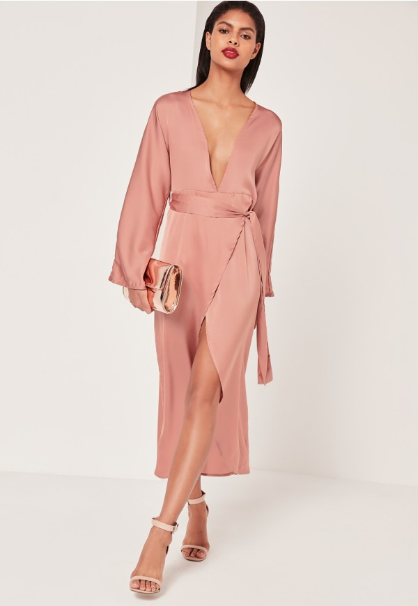 missguided-kimono-dress