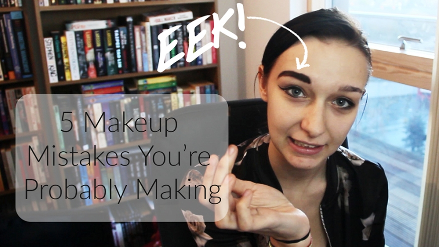 affordably fashionable by rachel oates my latest vlog makeup mistakes