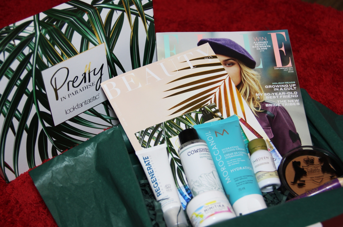 LookFantastic Pretty in Paradise Beauty Box - July 2017